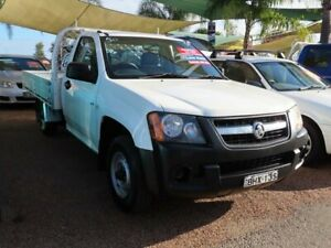 2008 Holden Colorado RC DX 4x2 White 5 Speed Manual Cab Chassis Minchinbury Blacktown Area Preview