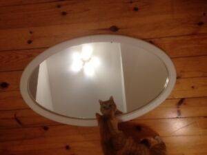 IKEA OVAL MIRROR