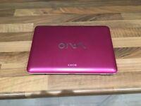 Sony Vio - newtbook (pink)