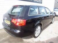 AUDI A4 1.9 AVANT TDI SE TDV 5d 116 BHP (black) 2008
