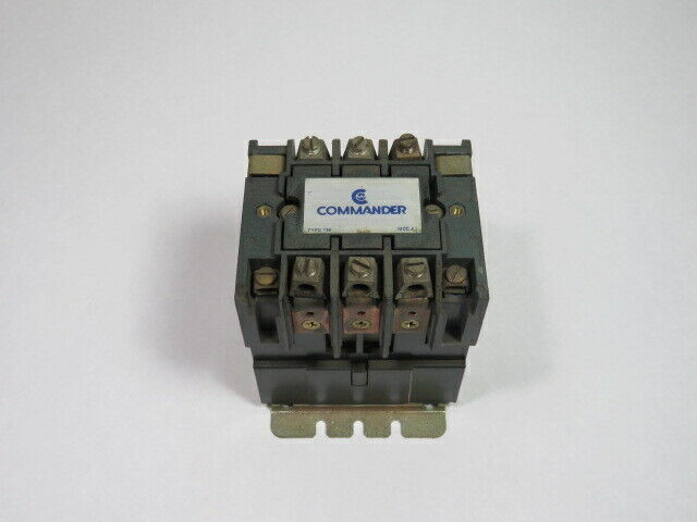 Commander T77U032 AC Contactor 110/120V 60Hz  USED