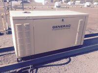 Génératrice commerciale Generac 30 kW au gaz naturel 3 phases 12