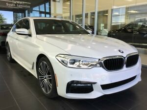 2017 BMW 5 Series i xDrive AWD, NAVI, ACCIDENT FREE