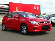 2009 Hyundai i30 FD MY09 SX Shine Red 4 Speed Automatic Hatchback Garbutt Townsville City Preview