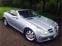 2006 Mercedes-Benz SLK 1.8 SLK200 KOMPRESSOR 2d AUTO 161 BHP