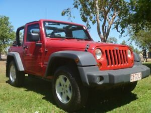 2009 Jeep Wrangler JK MY2010 Sport Red 6 Speed Manual Softtop Winnellie Darwin City Preview