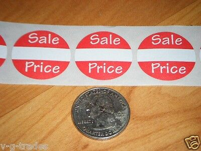 100 Self-adhesive Sales Price Labels 1 Stickers Tags Retail Store Supplies