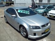 2009 Holden Commodore VE MY09.5 SV6 Silver 5 Speed Sports Automatic Sedan Broadmeadow Newcastle Area Preview