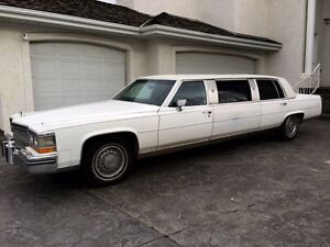 1986 Cadillac limo fleetwood (mint) Strathcona County Edmonton Area image 1