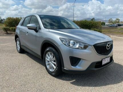 2012 Mazda CX-5 KE1071 Maxx SKYACTIV-Drive Silver 6 Speed Sports Automatic Wagon Garbutt Townsville City Preview