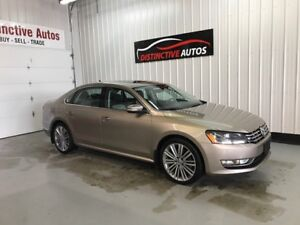 2015 Volkswagen Passat Highline TDI DIESEL LEATHER NAVI B.CAM Co