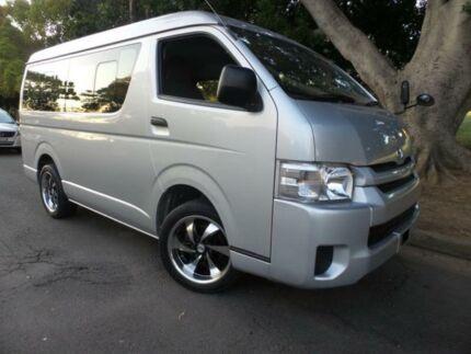 2015 Toyota Hiace Silver Van