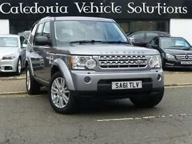 2011 61 LAND ROVER DISCOVERY 3.0 4 SDV6 XS 5D AUTO 255 BHP DIESEL