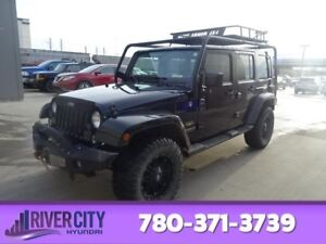 2014 Jeep Wrangler Unlimited 4WD  SAHARA Leather,  Heated Seats,