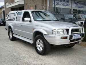 2003 Mazda B2500 Bravo DX (4x4) Silver 5 Speed Manual Dual Cab Pick-up Wangara Wanneroo Area Preview