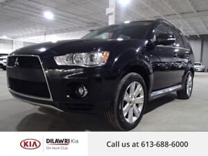 2011 Mitsubishi Outlander GT/LEATHER/ROOF/AWD