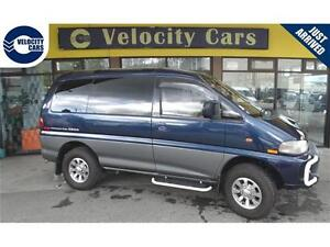 1995 Mitsubishi Delica 118K's 4WD DIESEL Crystal Lite Roof