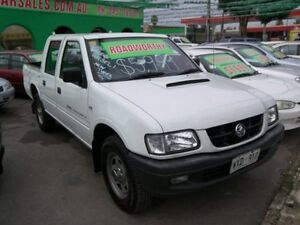 2003 Holden Rodeo TF R9 LX Crew Cab White Automatic Crewcab Nailsworth Prospect Area Preview