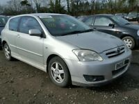 TOYOTA COROLLA 1.4 2003 BREAKING FOR SPARES TEL 07814971951 HAVE FEW IN STOCK