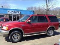 2001 Ford Expedition Eddie Bauer Fully Certified and Etested!