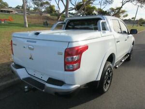 2015 Mitsubishi Triton MQ MY16 Exceed Double Cab White 5 Speed Sports Automatic Utility Old Reynella Morphett Vale Area Preview
