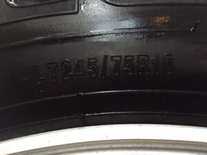 """245/75x16"""" all-terrain 6 bolt truck concours tires North Shore Greater Vancouver Area image 5"""