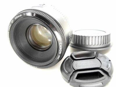50mm 1:1.8 II CANON lichtstarkes Standardobjektiv Portraitobjektiv für EOS