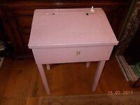 Vintage School Desk for Teddy or Doll