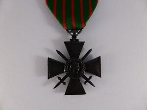 MEDALS - WW1 - FRENCH CROIX DE GUERRE - FULL SIZE