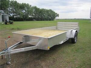 2016 Stronghaul aluminum utility trailer