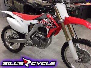 2016 HONDA Competition CRF 250 RG   RR Red