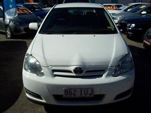 2006 Toyota Corolla ZZE122R 5Y Ascent White 4 Speed Automatic Hatchback Capalaba West Brisbane South East Preview