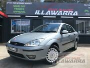 2004 Ford Focus LR CL Silver 4 Speed Automatic Sedan Barrack Heights Shellharbour Area Preview