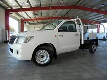 2012 Toyota Hilux KUN16R MY12 SR White 5 Speed Manual Cab Chassis Welshpool Canning Area Preview