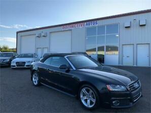 2011 Audi A5 Premium Plus S-Line Convertible AWD/LEATHER/NAVI