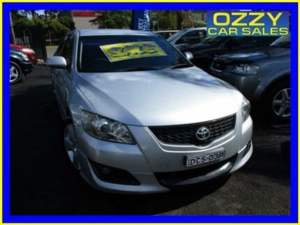 2007 Toyota Aurion GSV40R Sportivo SX6 Silver 6 Speed Auto Sequential Sedan Minto Campbelltown Area Preview
