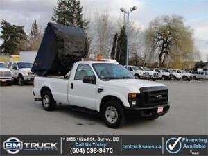 2009 FORD F-350 SUPER DUTY XL REG CAB  w/ DUMP BOX **DIESEL**