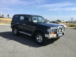 1997 Toyota Landcruiser GXL 40th Ann LE (4x4) Green 4 Speed Automatic 4x4 Wagon
