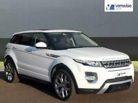 2015 Land Rover Range Rover Evoque SD4 AUTOBIOGRAPHY Diesel white Automatic