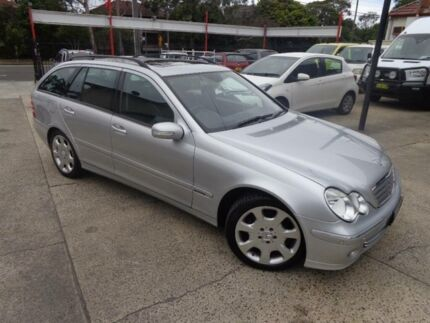 2005 Mercedes-Benz C230 W203 MY06 Elegance Silver 7 Speed Automatic G-Tronic Wagon Sylvania Sutherland Area Preview