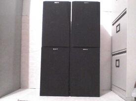 4 x 60W Sony Stereo Speakers - Heathrow