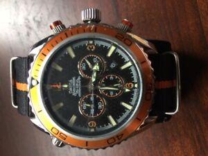 Omega Seamaster replica watch.