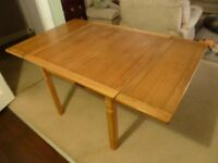 Dining/kitchen table circa 1950's Lebus draw out leaf table