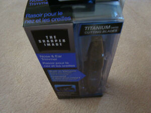 """THE SHARPER IMAGE NOSE&EAR TRIMMER """"""""NEW"""" West Island Greater Montréal image 10"""