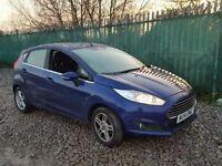 Ford Fiesta 1.0 Zetec 5dr (start/stop)£7,150 p/x welcome 1 YEAR FREE WARRANTY. NEW MOT