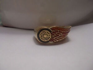 Detroit Red Wings Solid Gold Ring For Fans