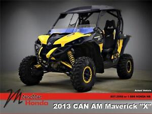 "2013 CAN AM Maverick ""X"""