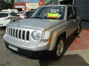 2013 Jeep Patriot MK MY14 Sport (4x2) Silver 6 Speed Automatic Wagon Camden Camden Area Preview