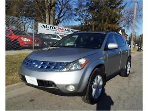 2004 NISSAN MURANO**LEATHER LOADED LUXURY**VERY CLEAN!