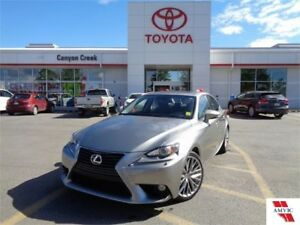 2014 Lexus IS 250 AWD Luxury Package